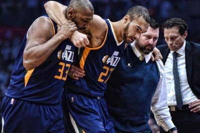 No Rudy Gobert, no problem for Utah Jazz in Game 1 victory over Los Angeles Clippers