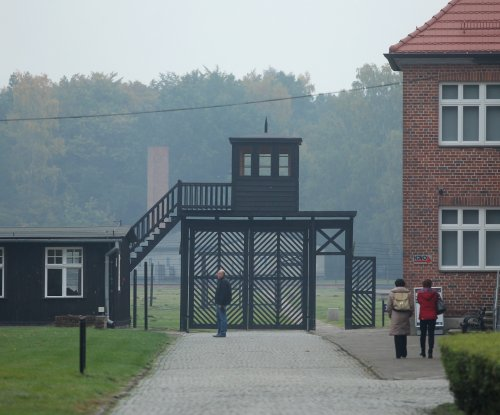 Holocaust survivors seek probe into nude tag video in gas chamber