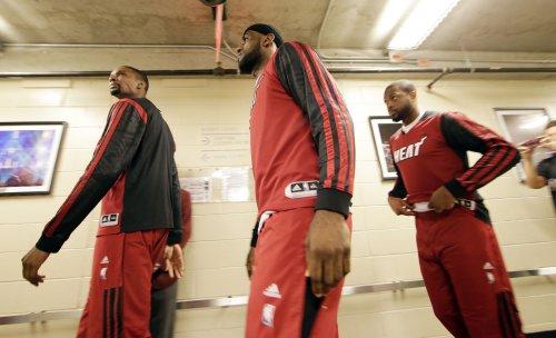 LeBron James downplays talk of player boycott over Sterling