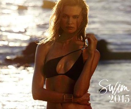 Behati Prinsloo covers Victoria's Secret swimsuit catalogue