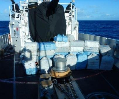 Coast Guard, U.S. Navy seize $32.7M worth of cocaine in Caribbean waters