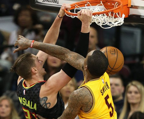 No regular starters, no problem for Atlanta Hawks in shocking win over Cleveland Cavaliers