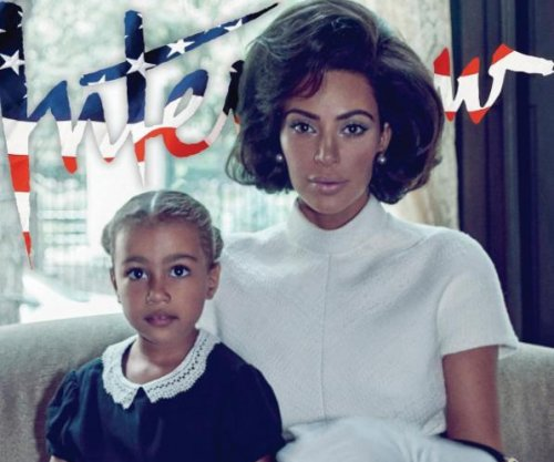 Kim Kardashian channels Jackie Kennedy in feature with North West