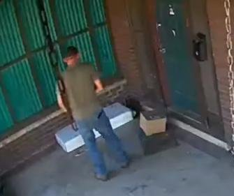 Man deters porch pirates with loud bangs from decoy package