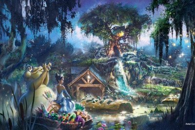 Disney to re-theme Splash Mountain after 'The Princess and the Frog'