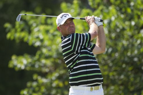 Bjorn leads Singapore Classic golf