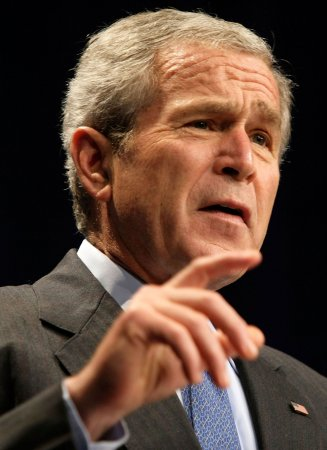 Bush calls for more Zimbabwe sanctions