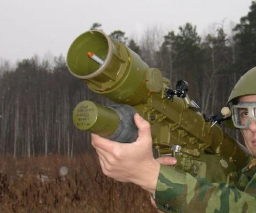 Russian company shows new man-portable air-defense missile