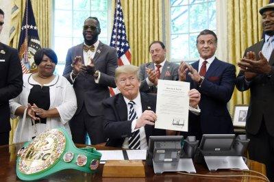Trump grants posthumous pardon for convicted boxer Jack Johnson
