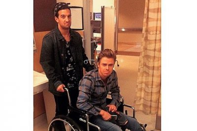 Derek Hough injured in 'Dancing with the Stars' rehearsal