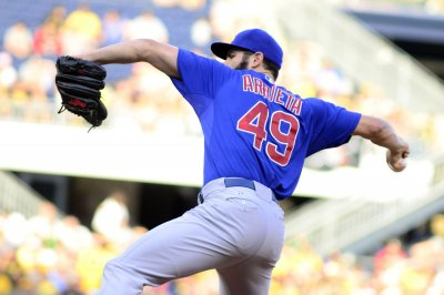 Jake Arrieta wins 20th as Chicago Cubs blank Milwaukee Brewers