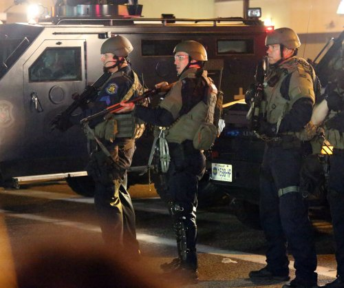 Trump restores police access to military gear
