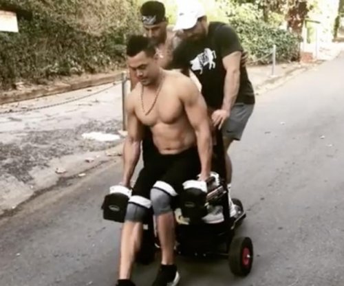 Yankees' Giancarlo Stanton makes another crazy workout video