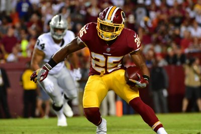 Washington Redskins' Jay Gruden on Chris Thompson: 'He's been incredible'