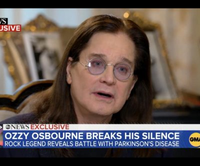 Ozzy Osbourne shares Parkinson's disease diagnosis