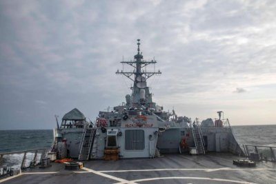 China criticizes passage of USS John S. McCain through Taiwan Strait