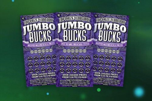$500 lottery winners score $1 million prize two months later