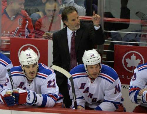 New York Rangers fire Coach John Tortorella