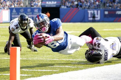 New York Giants release WR Victor Cruz, RB Rashad Jennings