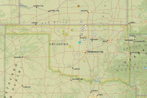 Tremor reported in shale-rich Oklahoma