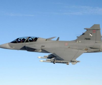Saab presents first Brazilian Gripen E fighter for flight test