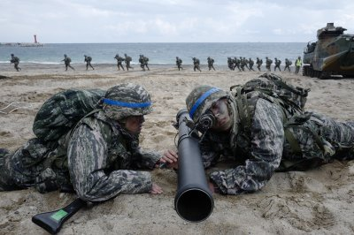 Activists in Japan hold rally against U.S.-South Korea exercises