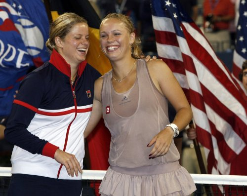 Wozniacki, Clijsters top seeds at U.S. Open