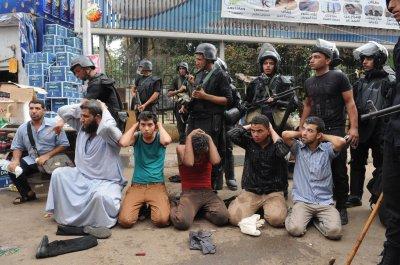 Egypt bans street protests