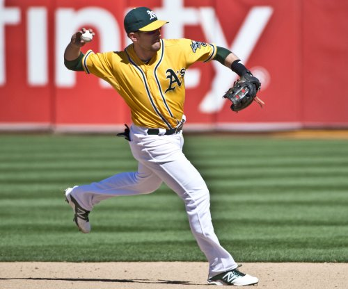Jed Lowrie leads Oakland A's past New York Yankees