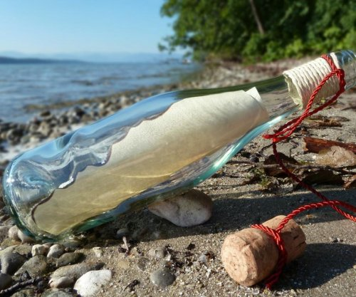 Man's romantic 'message in a bottle' stunt prompts littering concerns