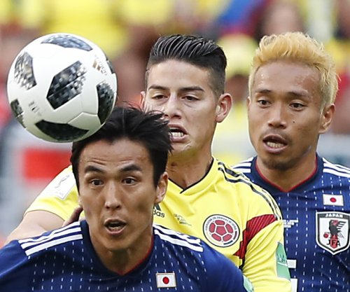 World Cup: Japan beats Colombia 2-1