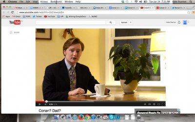 Conan O'Brien responds to look-alike's paternity claim