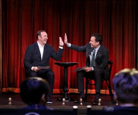 Kevin Spacey performs reimagined 'House of Cards' scenes