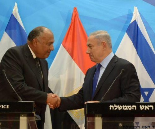 Egyptian foreign minister visits Israel in push for peace with Palestinians