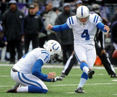 Indianapolis Colts' Adam Vinatieri aging like fine wine