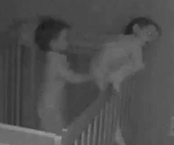 Twin toddlers team up to escape from cribs
