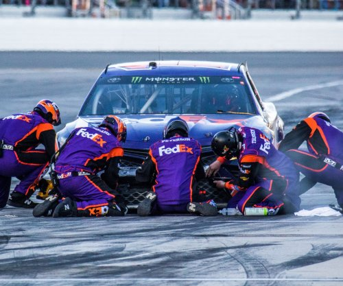 NASCAR notebook: Victory for Denny Hamlin means confronting lobster phobia