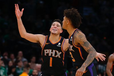 Phoenix Suns guard Devin Booker scores 59 in milestone-filled night