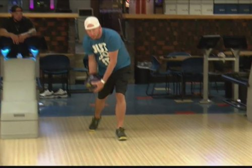Man bowls a perfect game with ball containing his father's ashes