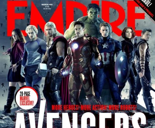 'Avengers: Age of Ultron' stars cover Empire magazine