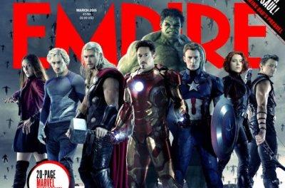'Avengers: Age of Ultron' stars cover Empire magazine