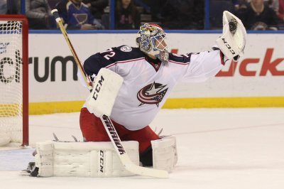 Columbus Blue Jackets' Sergei Bobrovsky records third straight shutout