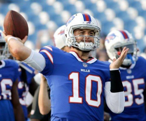 Buffalo Bills QB A.J. McCarron goes down with collarbone injury