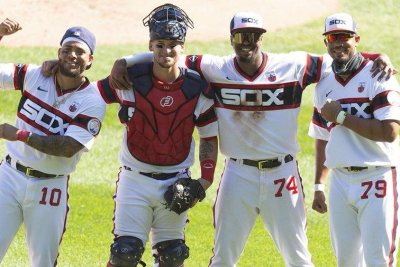 Chicago White Sox belt four straight home runs vs. St. Louis Cardinals