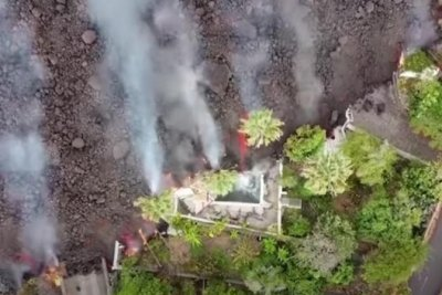 Lava from La Palma eruption has burned almost 400 structures so far