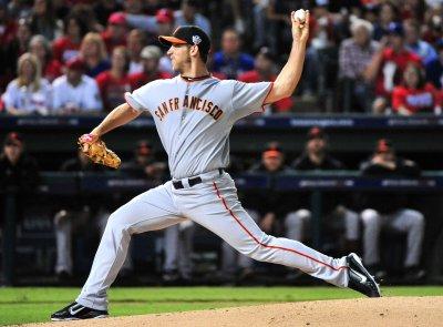MLB: San Francisco 4, Texas 0