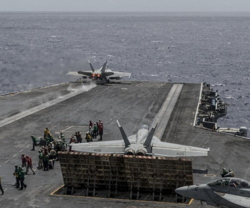Ronald Reagan Carrier Strike Group conducts training