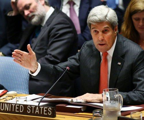 U.S. Secretary John Kerry in London to renew Syrian peace efforts
