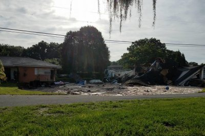 Sinkhole swallows Florida home, prompts evacuations