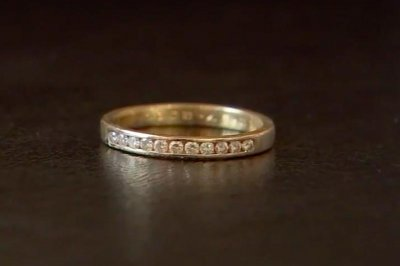 Woman's diamond ring found in sewer 9 years after falling into toilet